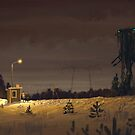 The Visitor by Simon Stålenhag