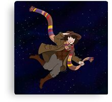 4th Doctor! Canvas Print