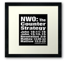 NWO: The Counter Strategy Framed Print