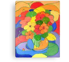 Nasturtiums # 5   Canvas Print