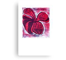 red hibiscus artprint  Canvas Print