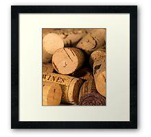 Cork jumble Framed Print