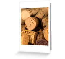 Cork jumble Greeting Card