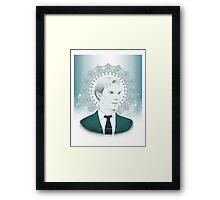 Benedict Cumberbatch - Ocean Green Framed Print