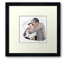Mystrade - I just don't do what your brother tells me! Framed Print