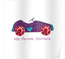 Ma petite voiture Poster