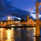 Inverness at Night by davefozz
