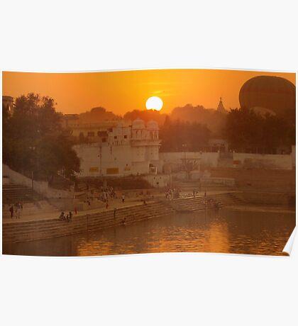 Holy Lake of Pushkar Poster