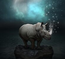 Power Is No Blessing In Itself v.2 (Protect the Rhino)  by soaringanchor
