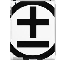 2015 Shirt (Black Logo) iPad Case/Skin