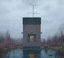 The Booth by Simon Stålenhag