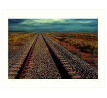 You Can See Forever in the Outback Art Print