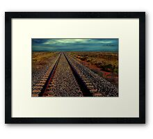 You Can See Forever in the Outback Framed Print