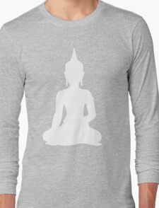Grey Buddha Long Sleeve T-Shirt