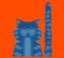 RIBBAR THE CAT Kids Tee
