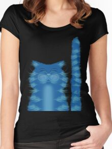 RIBBAR THE CAT Women's Fitted Scoop T-Shirt