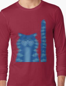 RIBBAR THE CAT Long Sleeve T-Shirt