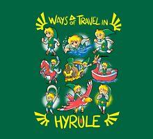 Ways of travel in hyrule Unisex T-Shirt