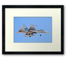 #A21-4 RAAF F/A-18A Hornet Framed Print
