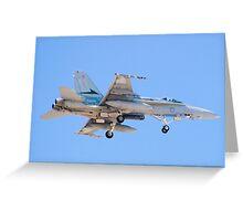 #A21-4 RAAF F/A-18A Hornet Greeting Card