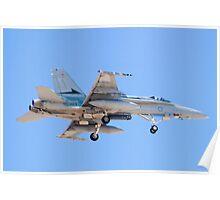 #A21-4 RAAF F/A-18A Hornet Poster