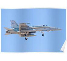 #A21-34 RAAF F/A-18A Hornet Poster