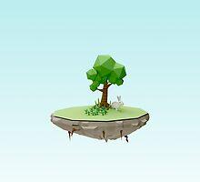 Bunny Island by scarriebarrie