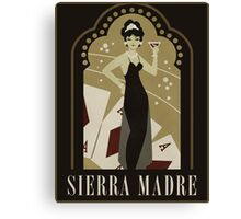 Sierra Madre Poster Design Canvas Print