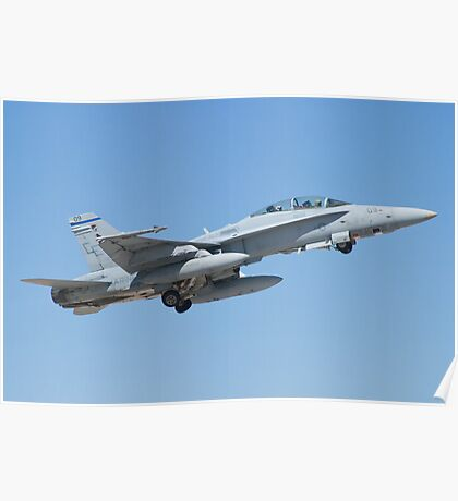 164677 F/A-18D Hornet Taking Off Poster