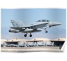 164679 F/A-18D Taking Off Poster