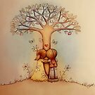 underneath the apple tree by © Karin (Cassidy) Taylor