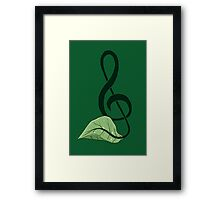 Nature Song Framed Print
