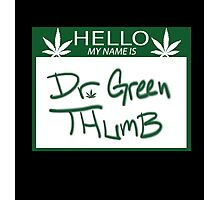 Dr. Green Thumb Photographic Print