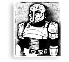 Concept Trooper Canvas Print