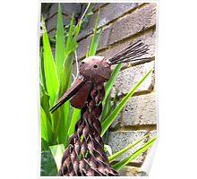 Metalic Bird Poster