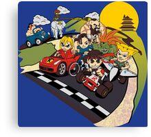 Super Fighting Kart Canvas Print