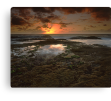"""The Dance of Eternity"" ∞ Little Bay, NSW - Australia Canvas Print"