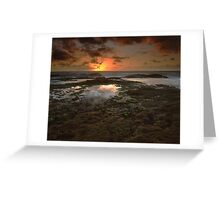 """The Dance of Eternity"" ∞ Little Bay, NSW - Australia Greeting Card"