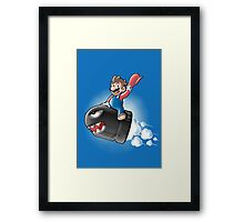 Stop Worrying and Love the Bomb Framed Print