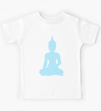 Pastel Sky Buddha Kids Tee