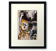 Urban Agony Framed Print