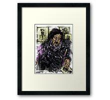 The Burton master Framed Print