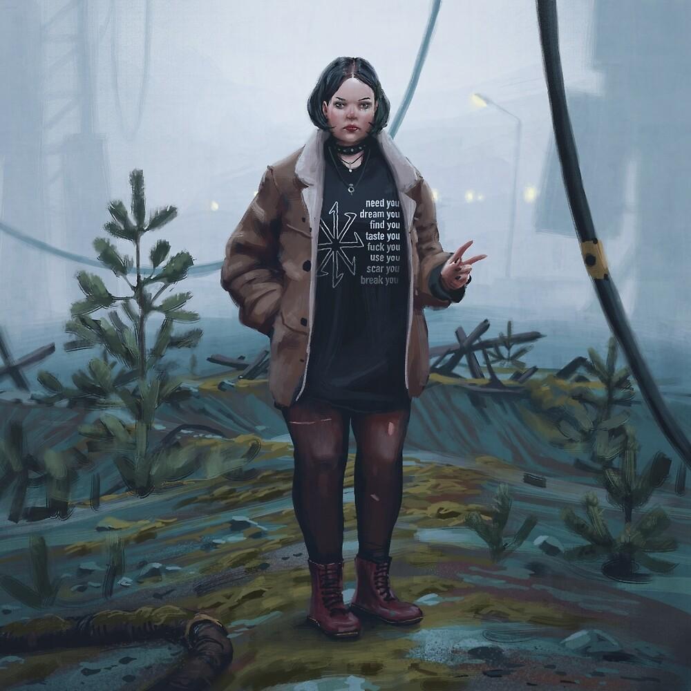Johanna Wuolo by Simon Stålenhag