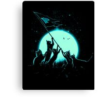 Freedom Cats Canvas Print