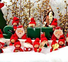 Santas helpers by kevin  caldwell