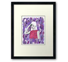 Dalila Framed Print
