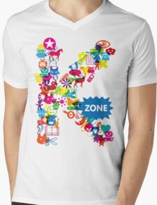 Icons Mens V-Neck T-Shirt
