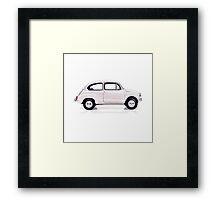 Fiat 600 Framed Print