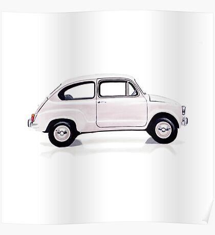 Fiat 600 Poster