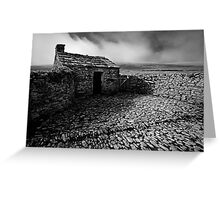 Black Scar House 01 - Yorkshire Dales, UK Greeting Card